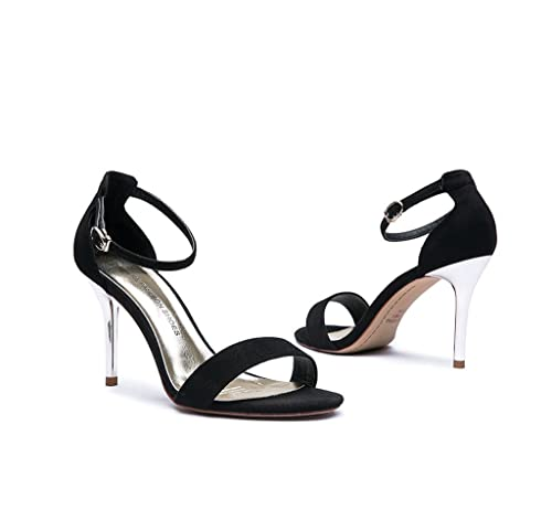 e7b586673a3 Dream High-Heeled Sandals Female Summer Sexy High-Heeled Shoes Simple Shoes  (Color
