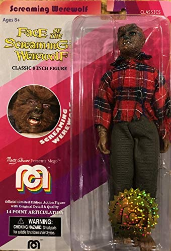 Screaming Werewolf Classic Mego Limited product image