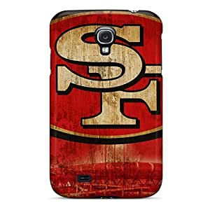 Bumper Cell-phone Hard Covers For Samsung Galaxy S4 (XaB5132HHNG) Customized Colorful San Francisco 49ers Pictures WANGJING JINDA