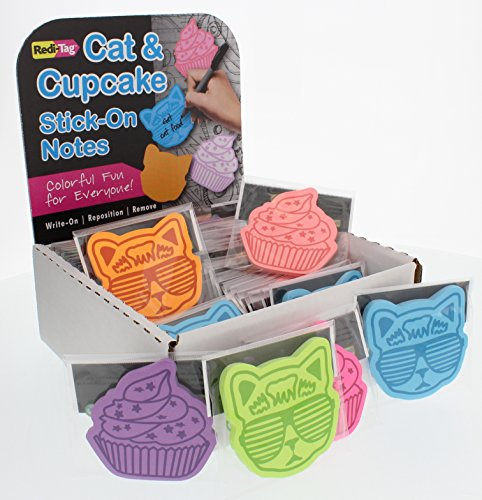 Cat & Cupcake Cute, Self-Stick Memo Notes
