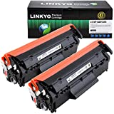 LINKYO Compatible Toner Cartridge Replacement for HP 12A Q2612A (2-Pack)