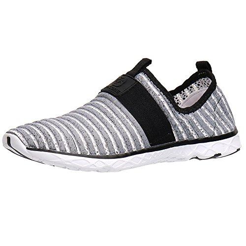Chaussures Gris76 Aleader Homme Sans Pour Lacets D'eau SxpqwdR7