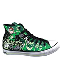 Converse Green Lantern DC Comics Chuck Taylor Glow in the Dark Sneakers