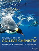 Foundations of College Chemistry 15e Binder Ready Version + WileyPLUS Registration Card