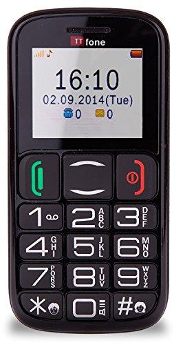 ttfone mercury 2 big button basic senior unlocked sim free