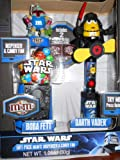 Star Wars Gift Pack M&M's Dispenser & Candy Fan, Darth Vadar, Obi-Wan Kenoi, Boba Fett, Assorted Styles