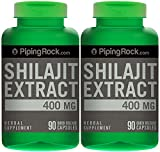 Shilajit Extract 400 mg 2 Bottles x 90 Capsules