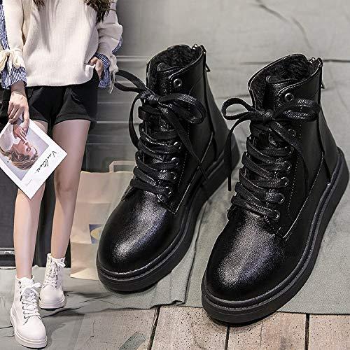 Para Británico Estudiantes Martin Mantenerse Terciopelo Phy Arranca A Beige Salvajes Caliente El Los Shoe Viento Más 7BaS4
