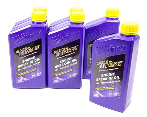 Royal Purple 06487 10w30 Break-In Oil Case , 6 quart, 1 (Royal Purple Breakin Oil)