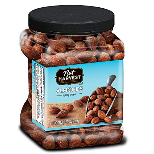 Nut Harvest Almonds, Lightly Salted, 36 ()