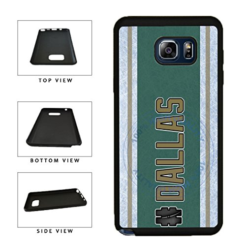 fan products of BleuReign(TM) Hockey Team Hashtag Dallas #Dallas TPU RUBBER SILICONE Phone Case Back Cover For Samsung Galaxy S8 Plus