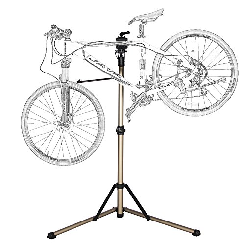 Bike Repair Stand -Shop Home Bicycle Mechanic Maintenance Rack- Whole Aluminum Alloy by Roces