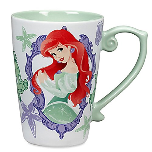 Disney Store Princess Ariel Coffee Mug Green 2016