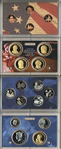 Clad Us Mint - 2009 S U.S. Mint 18-coin Clad Proof Set - OGP box & COA Proof