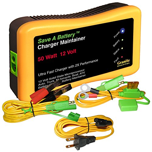 Battery Saver 2365 12V 50W Quick Charger and Auto Pulse Maintainer ()