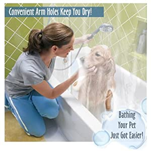 StayDri Pet Wash Shower Curtain