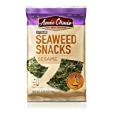 Annie Chun's Roasted Seaweed Snacks, Sesame, 0.35-ounce (Pack of 12), America's #1 Selling Seaweed Snacks