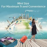 Powerful Portable Steamer – Professional, Quick-Heating, Handheld Wrinkle Remover – Steam, Disinfect, and Iron Clothes, Curtains, Garments, Upholstery + FREE Suitcase Cover by LESHEM