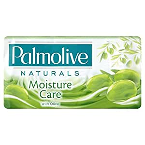 Palmolive - Jabón Moisture Care con Oliva, 90 g (3 unidades)