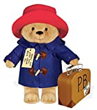 Paddington Bear stuffed animal with a 40 cm suitcase