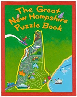 The Great New Hampshire Puzzle Book: Over 80 Puzzles & Games About Life in the Granite State (State Puzzle Books) by Jane Smolik (2009-06-05)