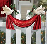 Peace On Earth Doves Outdoor Christmas Decoration By Collections Etc