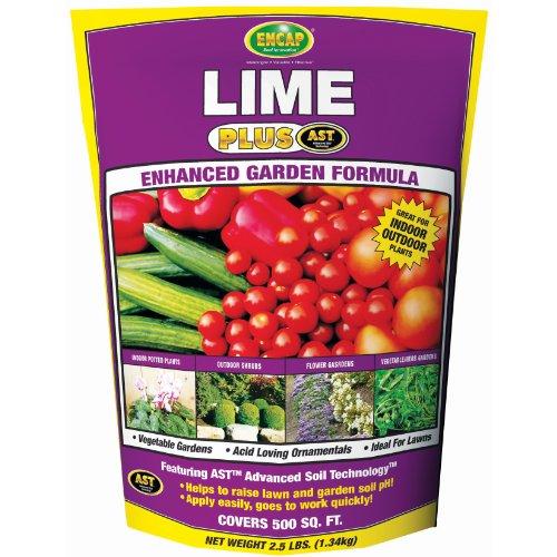 Encap 10612-6 Fast Acting Lime Pouch, 2.5 Pounds, 400-Square Feet -