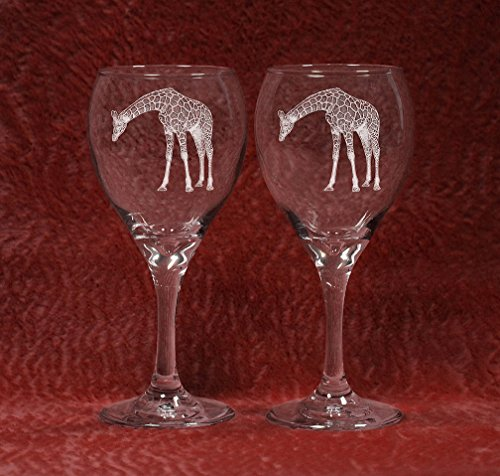 Giraffe 2 Laser Etched Glassware Set (TDW, 2) Review