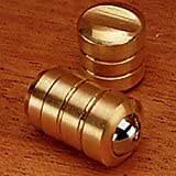 Brass Bullet Catch, 1/4'' Diameter, Light Duty