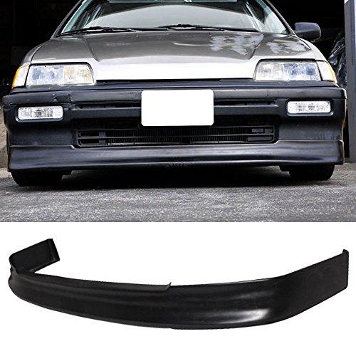 88-89 Honda Civic 4dr Sedan And Hatchback/88-91 Honda Civic Wagon Poly Urethane CS Add-On Front Bumper Lip Spoiler Bodykit (Honda Civic Wagon Wagon)