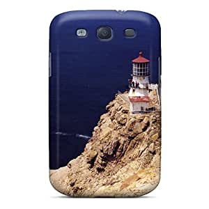 Yek13337tJAr Snap On Case Cover Skin For Galaxy S3(point Reyes Lighthouse In California)