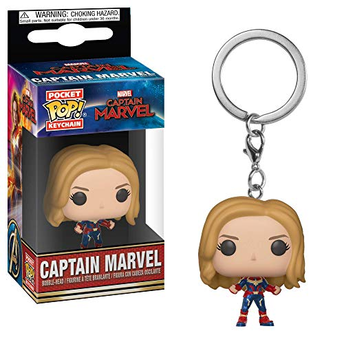 Amazon.com: Funko Pop! Keychain Marvel: Captain Marvel ...