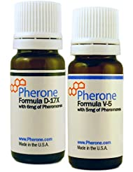 Pherone Special Discounted Bundle B-175 for Men to Attract Women, with Pheromone Cologne Formulas D-17X and V-5 with Pure Human Pheromones