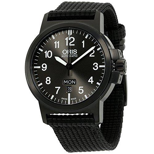 Oris Black Dial Nylon Strap Men's Watch 73576414733TSBLKXG (Ceritifed Refurbished)