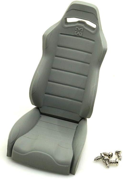 Raidenracing 1//10 Scale Realistic RC Crawler Truck Rubber Seats Chair SCX10 II III Wraith Body Accessories 2pcs