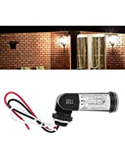 Photocell Sensor Control Switch Outdoor Hard-Wired Post Eye Light Control with Photoelectric Sensor Switches Dusk to Dawn Light Sensor for Outdoor Corridor Patio Lighting