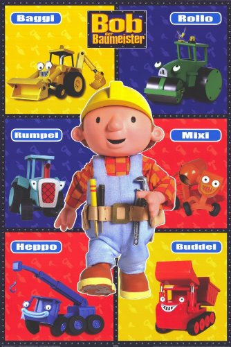 Bob the Builder 11 x 17 Movie Poster - German Style A