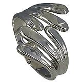Les Poulettes Jewels - Sterling Silver Bracelet Leaf