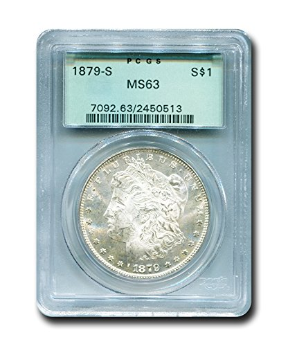 1879 S Morgan Dollar PCGS MS-63
