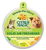Citrus Magic Pet Odor Absorbing Solid Air Freshener, Fresh Citrus, 8-Ounce, My Pet Supplies