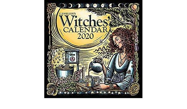 Calendario Free.Amazon Com Buy One 2020 Witches Calendar And Get A Free