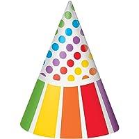 Unique Party- Gorros de Fiesta, 8 Unidades (47121)