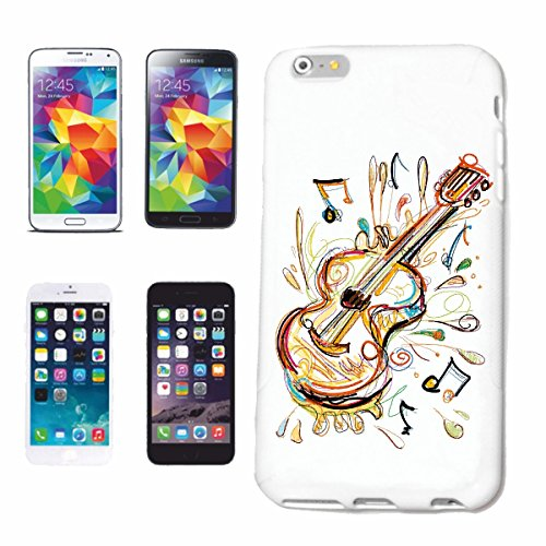 "cas de téléphone iPhone 7 ""GUITARE VIOLON BASS VINTAGE TECHNO JAZZ FUNKY SOUL TRANCE FESTIVAL HOUSE HIPHOP HIP HOP DJ"" Hard Case Cover Téléphone Covers Smart Cover pour Apple iPhone en blanc"