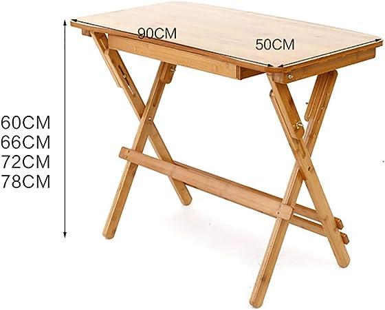 Table D Ordinateur Pliable Pliable Simple Ménage Ordinateur