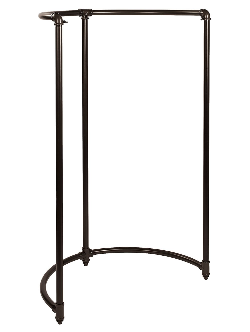 SSWBasics Boutique Pipe Half Round Clothing Rack