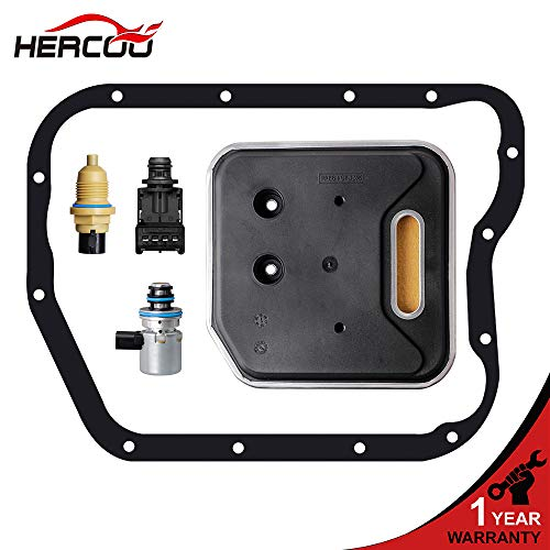 - HERCOO Governor Pressure EPC Solenoid Transducer Output Speed Sensor with Filter Gasket Kit for Dodge Ram 1500/2500/3500, Dodge Dakota/Durango, 2000-2004 Grand Cherokee