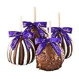 Mrs. Prindables 4-Pack Classic Petite Caramel Apple Gift Set