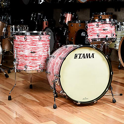 Tama Starclassic Maple 3-piece Shell Pack - Red White Oyster