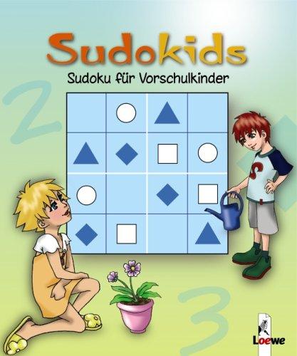 Sudoku für Vorschulkinder. Grün