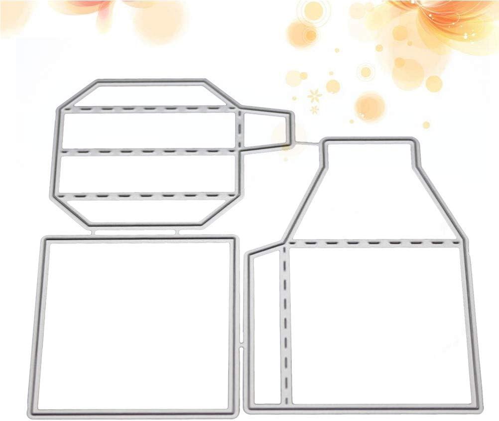 SUPVOX DIY Caja de Regalo Creativa Forma Acero al Carbono ...